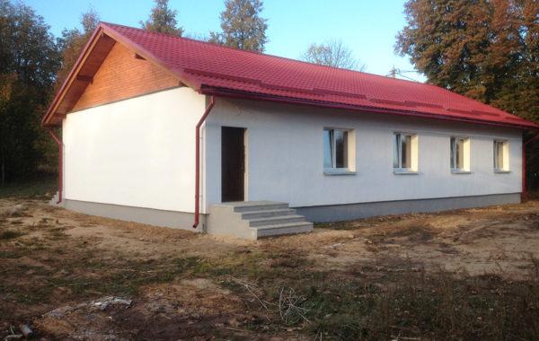 Двухквартирный жилой дом д. Занарочь