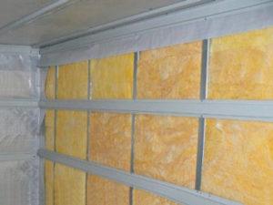 Теплоизоляция стен с дополнительной пароизоляцией